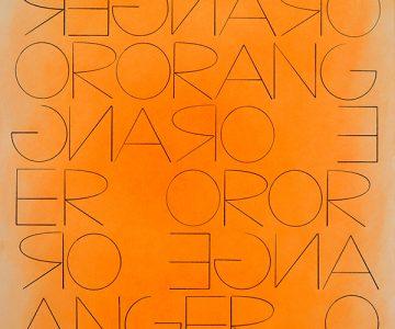 Honza Zamojski, Untitled [Orange or Anger] 2018