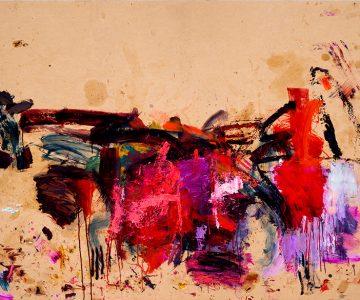 Martha Jungwirth Ohne Titel 2016 143 x 245 cm