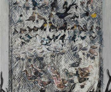 Xie Zhengli, Birds and deer-horns 2012